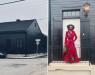 Оваа жена цела куќа ја обоила во црна боја, причината ќе ве изненади
